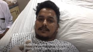 Un « miraculé » du crash de l'Airbus au Pakistan témoigne (Vidéo)