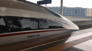 Vidéo. À bord du train autonome à grande vitesse inauguré par la Chine