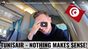 Un Youtubeur allemand teste Tunisair, en attendant Air Algérie et Royal Air Maroc