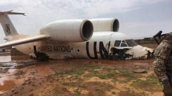 Un avion de l'ONU rate son atterrissage au Mali