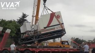 Air Algérie offre deux simulateurs de vols à un centre de formation – Vidéo