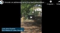 VIDÉO – France : un adolescent armé sème la panique dans un lycée