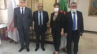 Le PDG d'Air Algérie rencontre l'ambassadeur de Russie