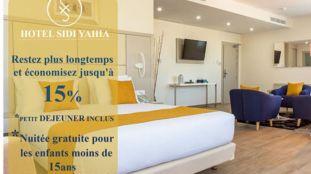 Promotion : -15 % chez Hôtel Sidi Yahia – Alger