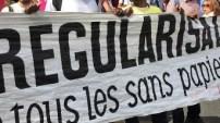 Sans-papiers en France : marche nationale vers l'Elysée