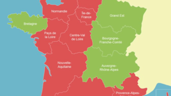 La Suisse classe 9 régions françaises, dont Paris, en zone à risque élevé