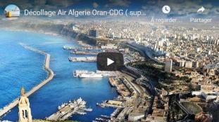 VIDÉO. Air Algérie : décollage d'un vol Oran – Paris