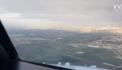 Air Algérie : magnifique atterrissage filmé du cockpit – Vidéo