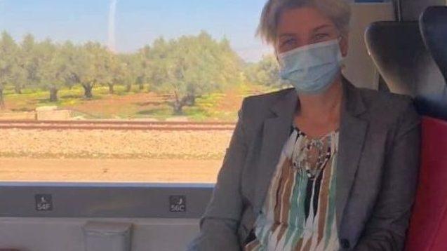 PHOTOS. Algérie : quand une ambassadrice européenne prend le train