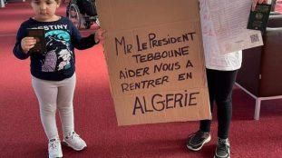 Les Algériens bloqués à Roissy reçoivent un soutien inattendu (Vidéo)