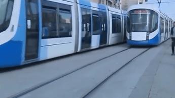 VIDÉO. Tramway d'Alger : des images chocs