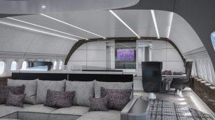 PHOTOS – Découvrez l'intérieur d'un Boeing aménagé en véritable palace