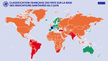 Voyages : l'Algérie classée sur la liste « orange » de la France