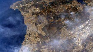 Thomas Pesquet publie des photos d'Alger depuis l'espace