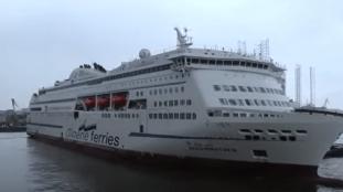 Algérie Ferries : le Badji Mokhtar 3 en route vers Alger (Vidéo)