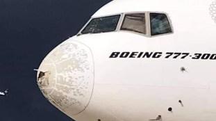 EN IMAGES. Un atterrissage d'urgence compliqué pour un avion d'Emirates
