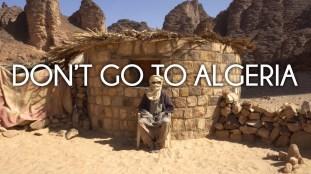 VIDÉO. « N'allez pas… en Algérie ! »