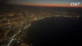 Air Algérie : Alger la nuit, filmée depuis le cockpit