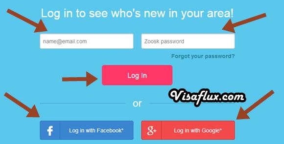 Zoosk online dating login