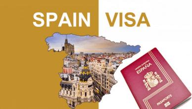 Spain Visa Application Form