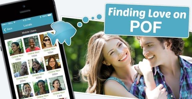 Pof online dating app