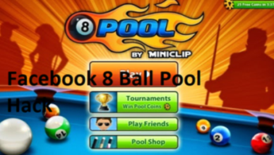 Messenger 8 Ball Pool Game On Facebook