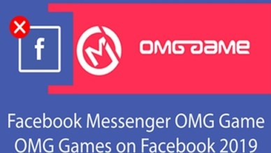 OMG game in Your Messenger Facebook Mobile
