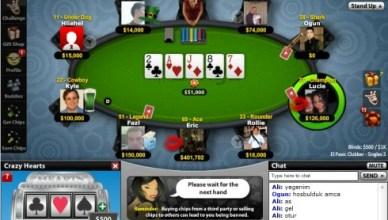 Facebook Poker Games in Gameroom