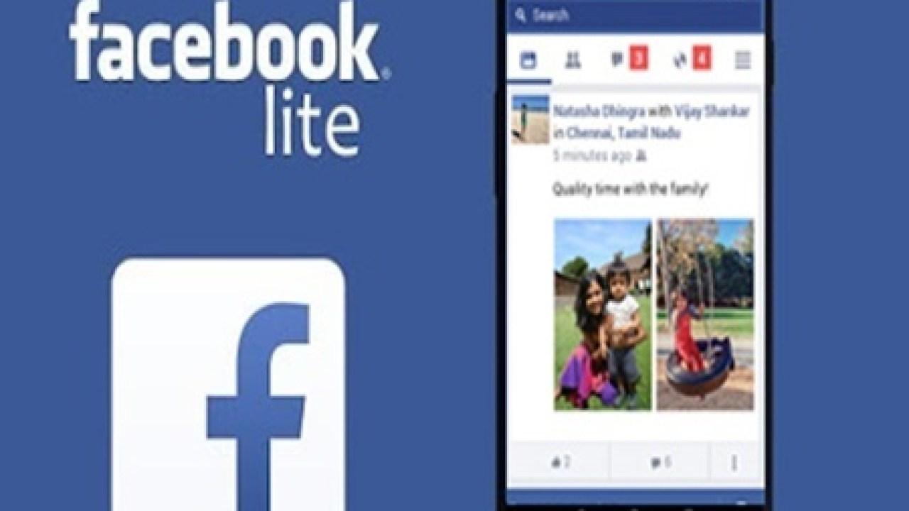 Login facebook lite www Facebook Lite