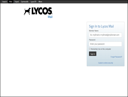 Lycos Email Login