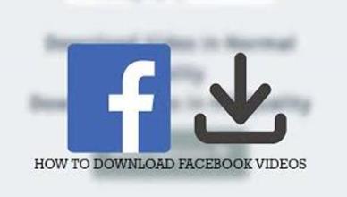 Download Facebook Videos – How to Save Facebook Videos Offline