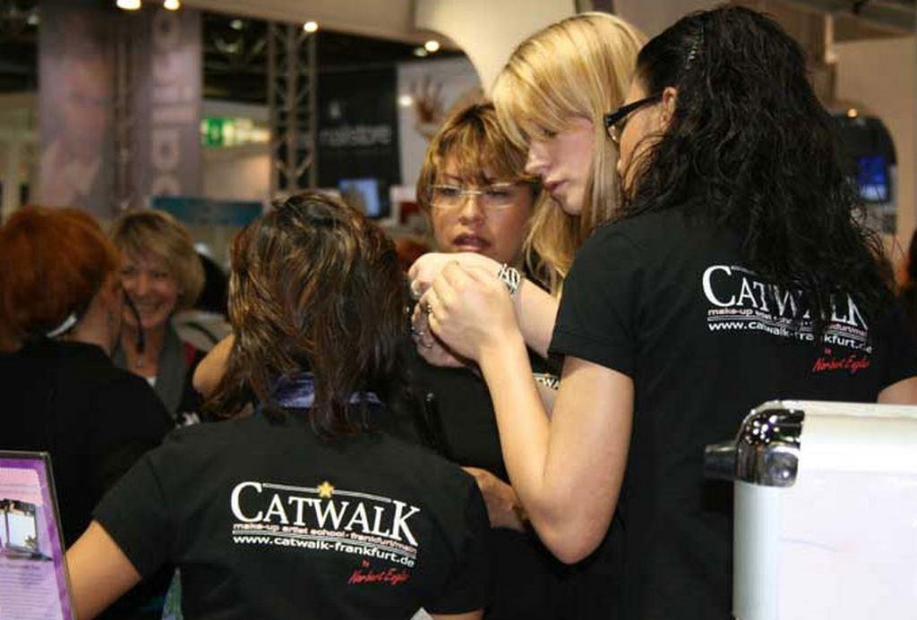 Indira Lavayen  Visagistenagentur Catwalk
