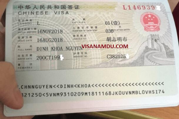 Xin visa du lịch Trung Quốc tự túc dễ không?