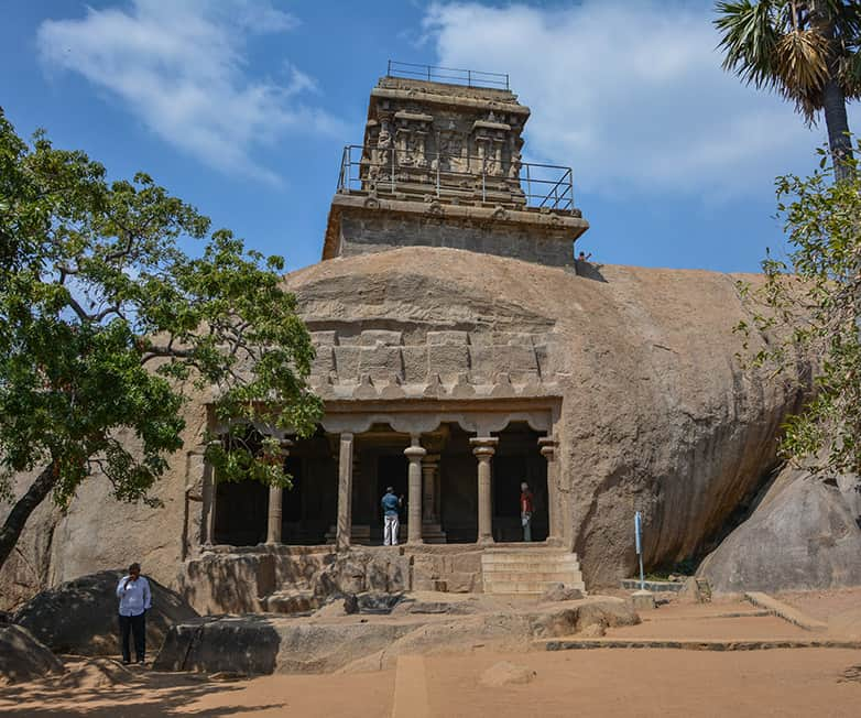 monuments in mamallapuram india