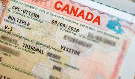 Canadian Multiple Entry Visa application 2018