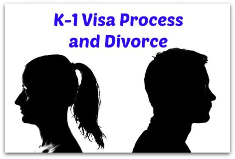 The k-1 visa process and divorce may be long and can get you denied a green card
