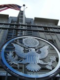 US Embassy in your fiance(e)'s country will issue the K-1 visa