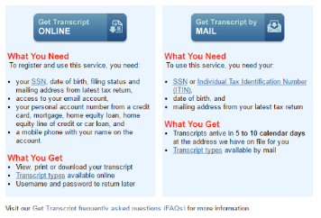 Irs transcripts for form i 134 visa tutor for Consul use cases