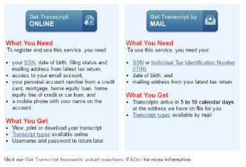 IRS transcripts for form I-134 « Visa Tutor