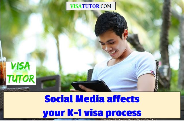 The USCIS and US Embassy can use social media, facebook, and twitter to verify things in your K-1 fiance visa case. This can lead to denials if you don't prevent mistakes