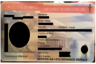 This employment authorization I-765 and I-131 allow temporary work and travel privileges after k-1 visa