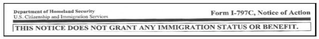 The USCIS Lockbox facilities issues a I-797c Notice of Action when your I-129F case has been accepted and forwarded