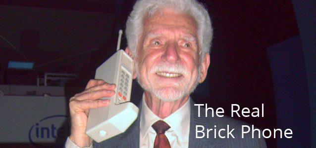 Throwback Thursday: The Real Brick Phone