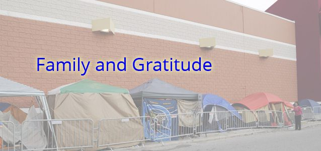 Family and Gratitude