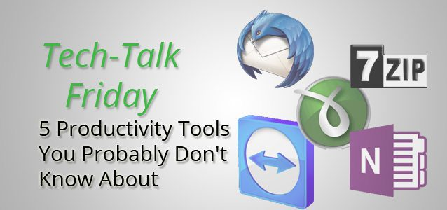 5 Productivity Tools You Probably Don't Know About