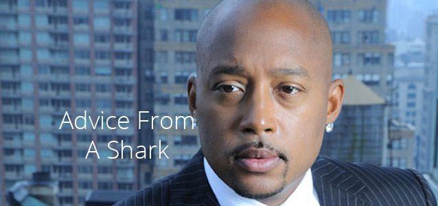Advice From a Shark