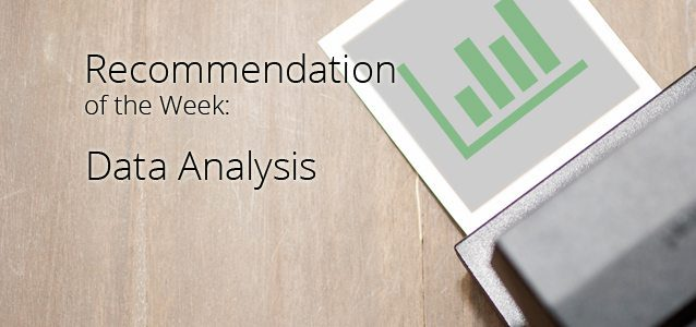 Recommendation of the Week: Data Analysis