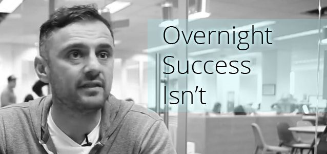 Overnight Success Isn't