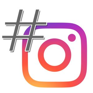On Instagram, the hashtag allows you to search similar posts.