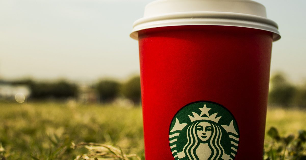 Wouldn't you love a logo as iconic as Starbucks'?